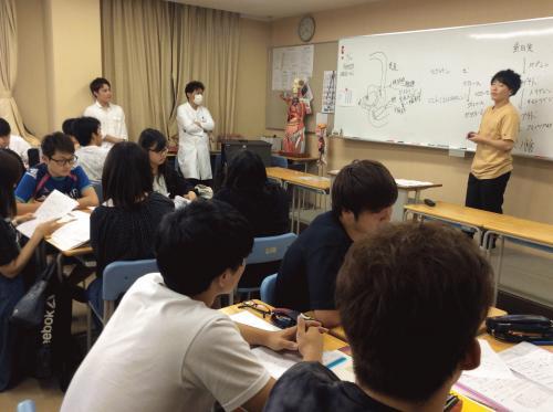 柔整学科の授業見学