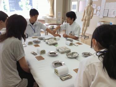 鍼灸学科の体験授業(OC)