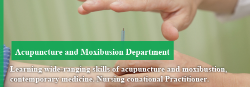 Acupuncture and Moxibusion Department